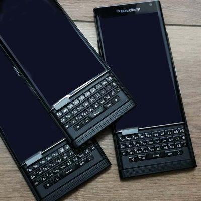חריטת עברית על blackberry priv