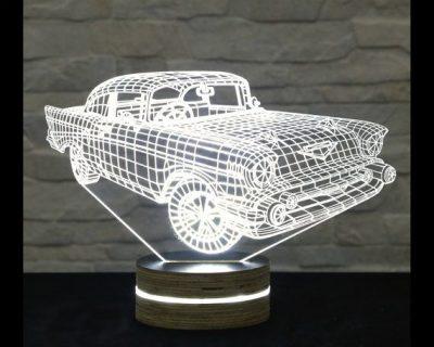 מעמד מואר דגם מכונית
